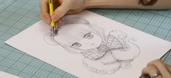 Imaginative Drawing Developing Concept Art Characters Camilla D