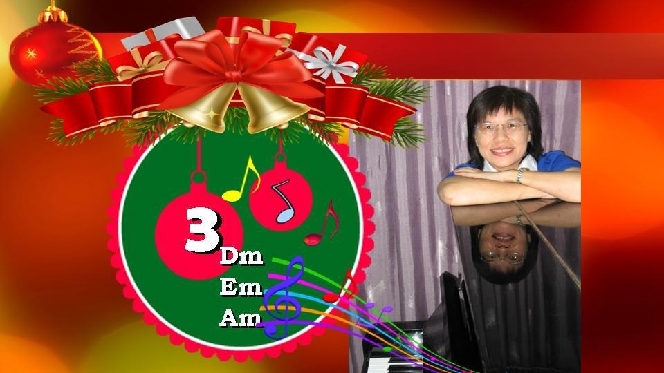 Learn Piano 3 Music Harmony 3 Minor Piano Chords Em Dm Am Rosa