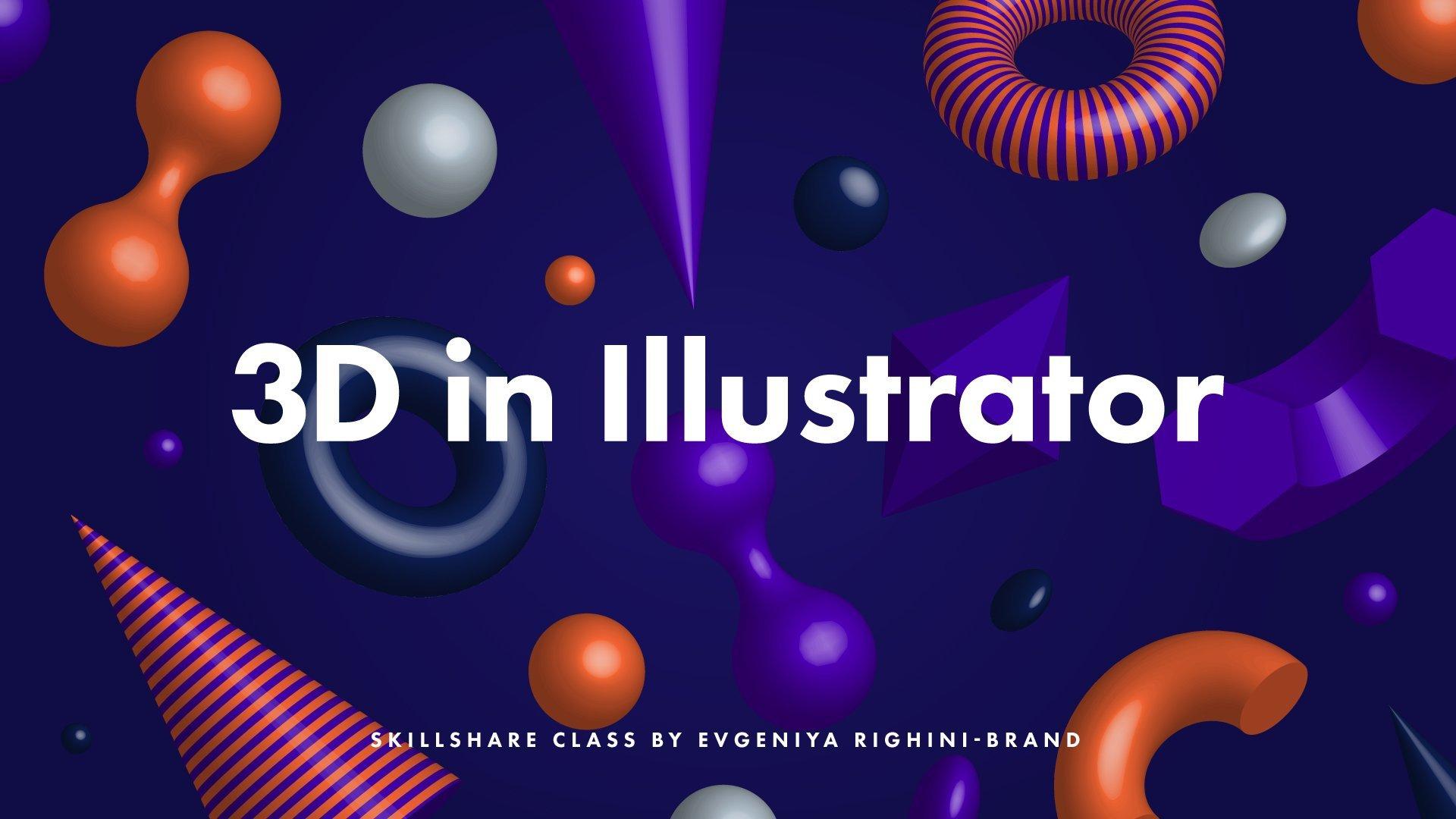 Creating Amp Using Custom 3d Objects In Illustrator