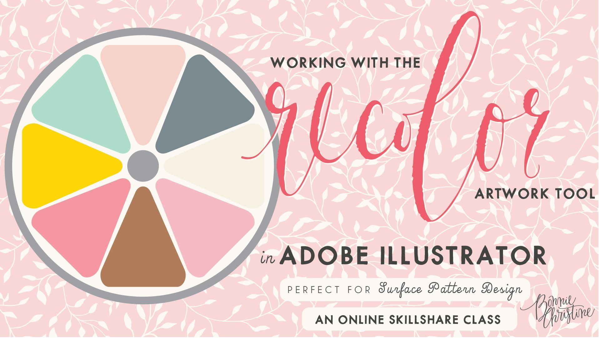 Color adobe online - Master Color With The Recolor Artwork Tool In Adobe Illustrator Bonnie Christine Skillshare