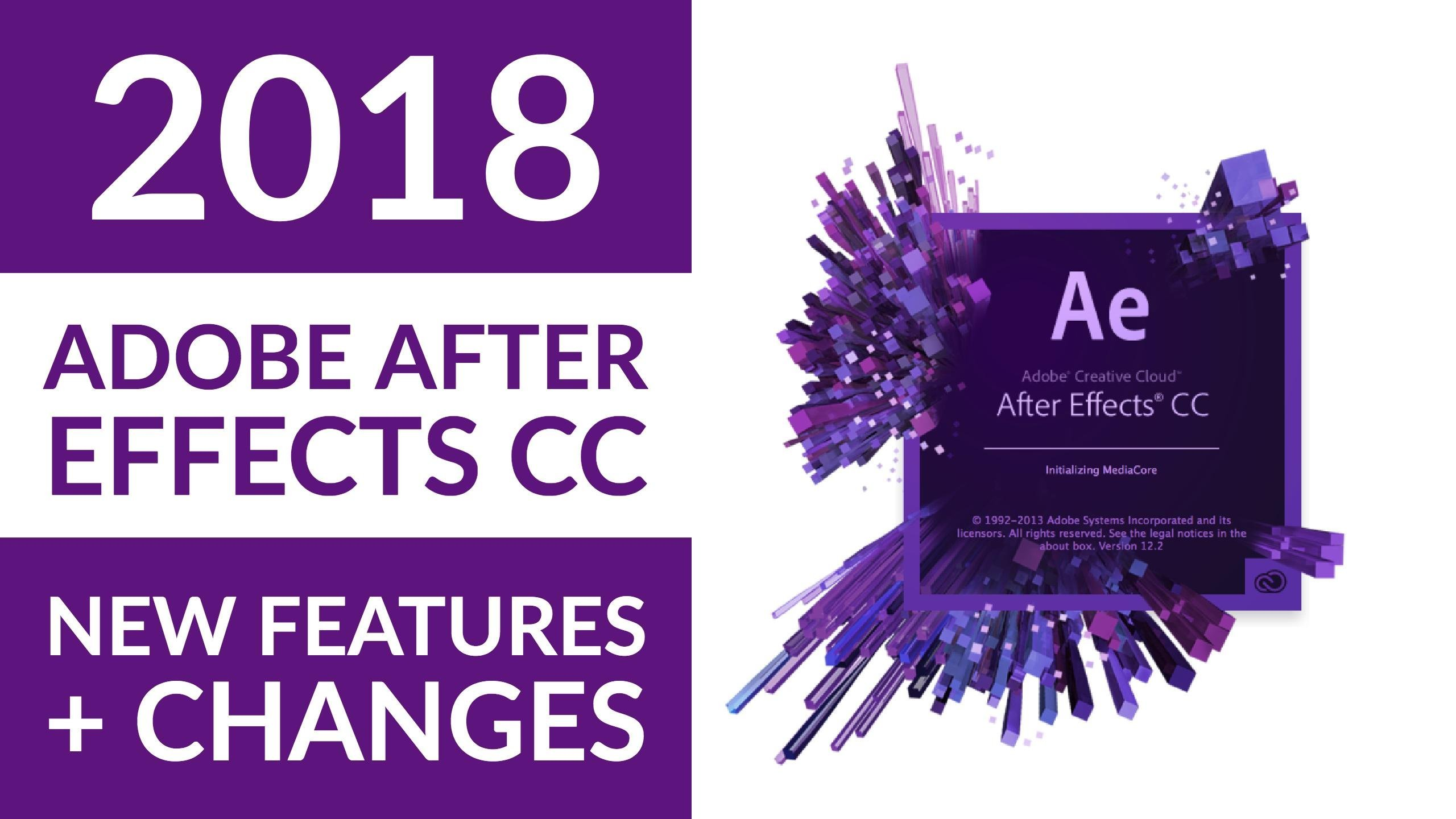 Adobe After Effects 2018 New Features | Daniel Scott