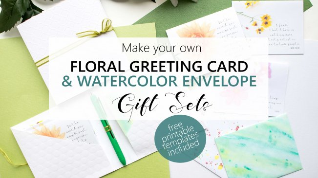 Greeting card making create your own floral card and watercolor greeting card making create your own floral card and watercolor envelope gift sets jane and sonja skillshare m4hsunfo