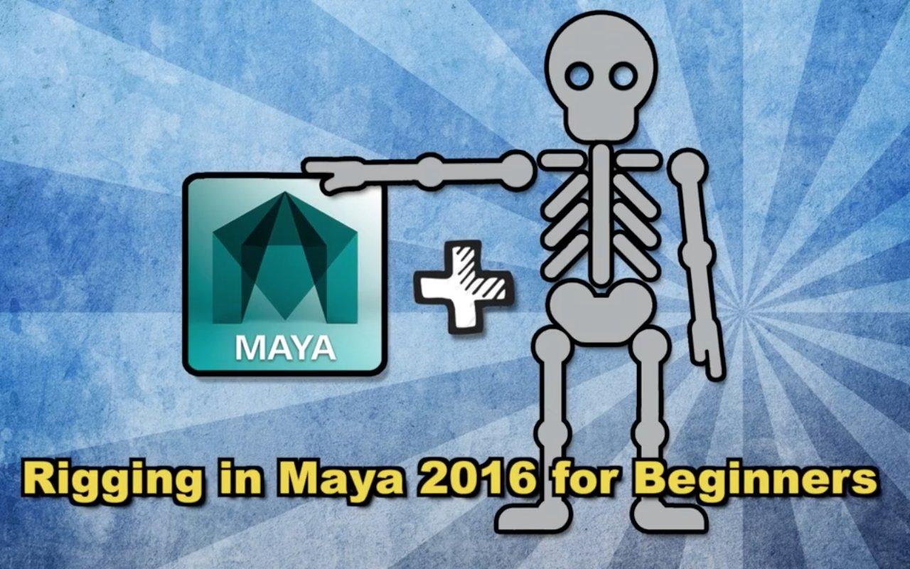 Rigging in Maya for Beginners- Part 1 (5 hours) | Daniel Lopez de