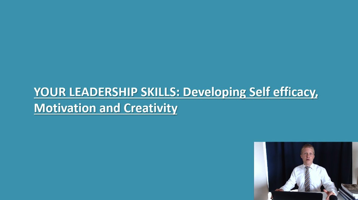 Developing Leadership Skills: Leadership Personality, Motivation, and Creativity
