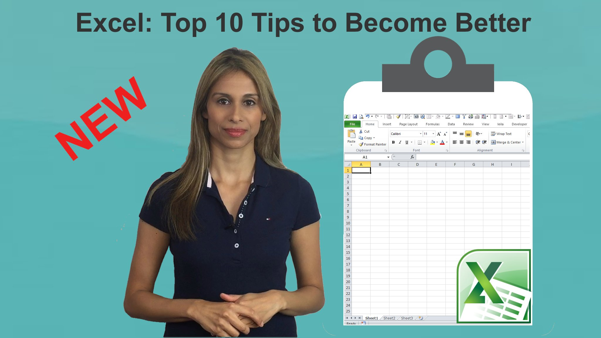 Excel Top 10 Tips To Become Better In Excel Leila