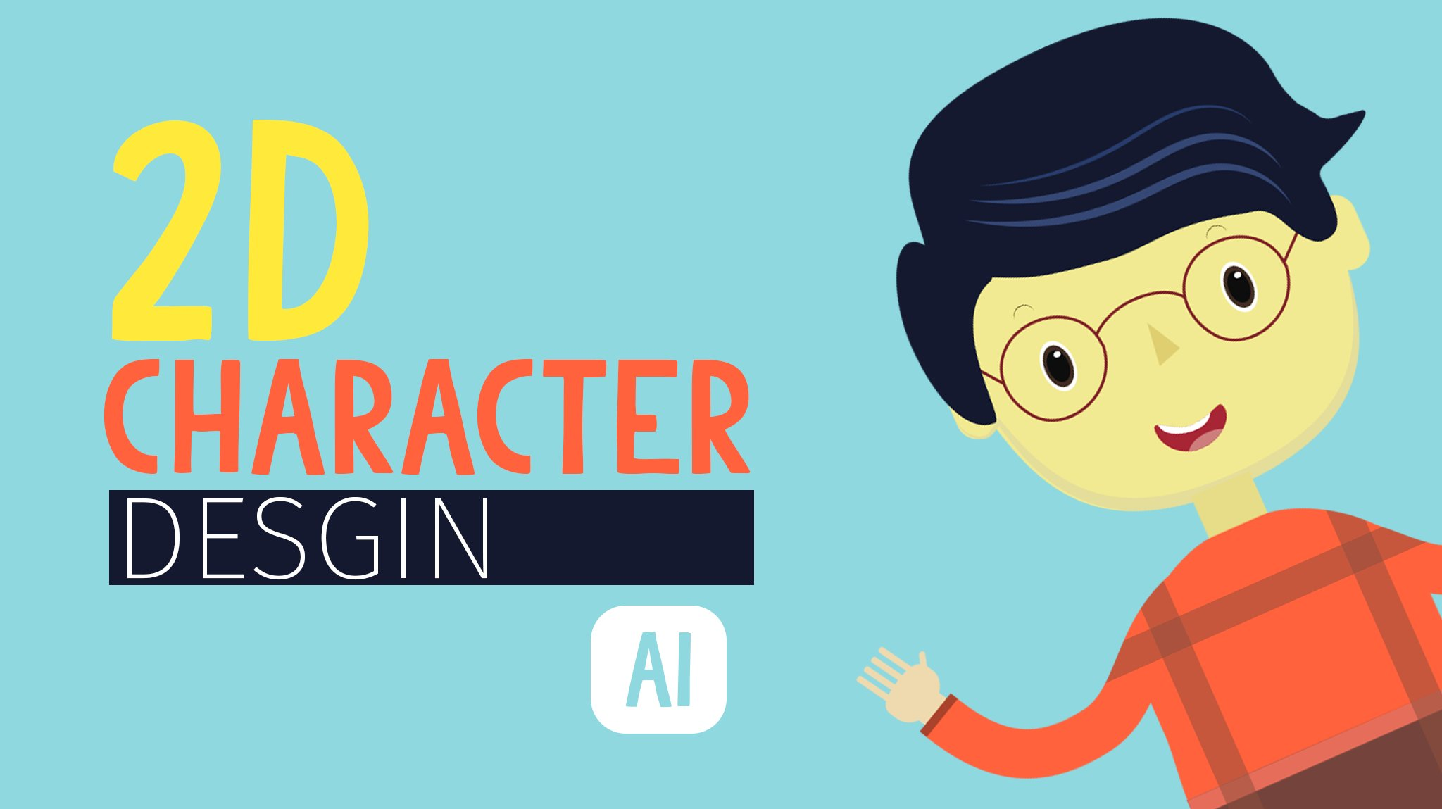 Adobe Illustrator Essentials For Character Design : D character design in adobe illustrator hu shahir