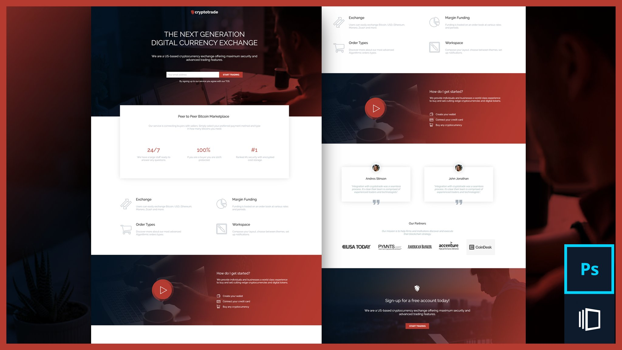 Skillshare 100% Free : Design beautiful landing pages that generate quality leads
