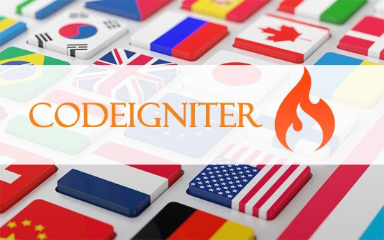 Build multi language website in codeigniter