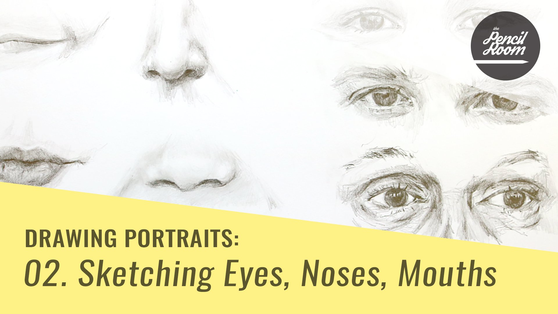 drawing portraits sketching eyes noses mouths emily armstrong
