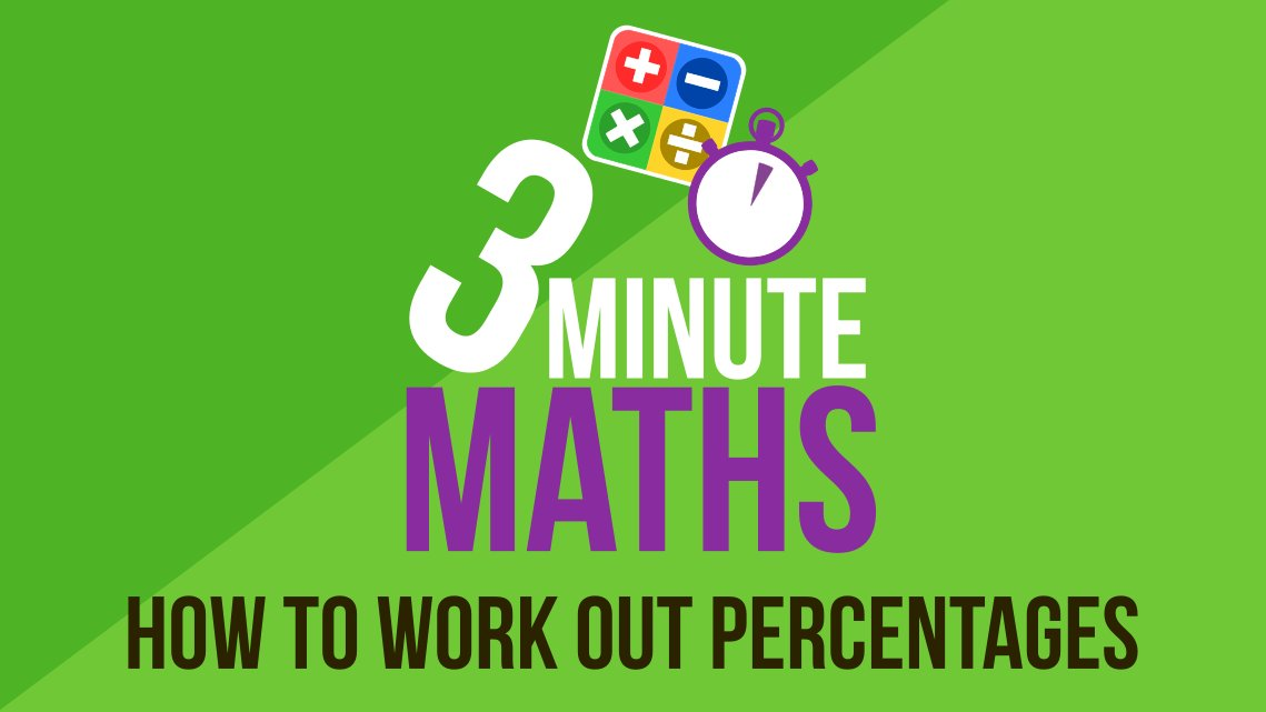 working out percentages