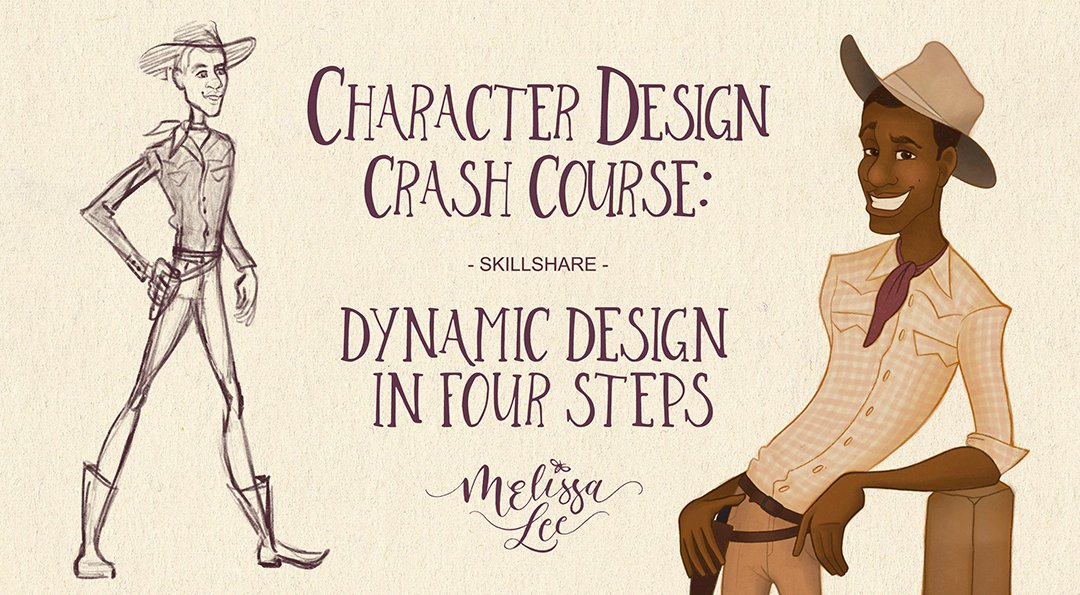 Character Design Crash Course: Dynamic Design in Four Steps