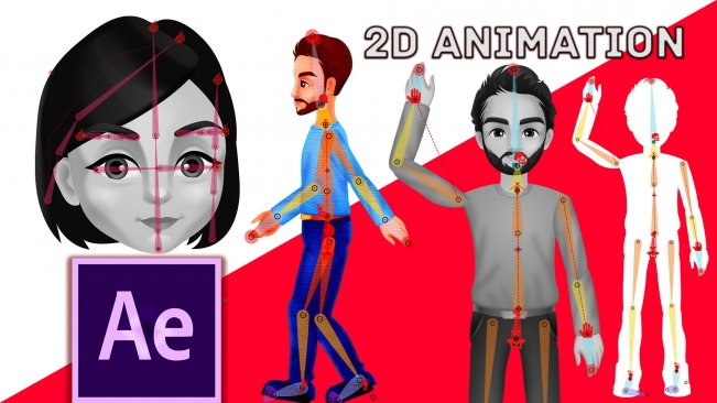 Duik Bassel (16) Rigging&Animation | After Effects CC 2018 | Beginner to Advanced