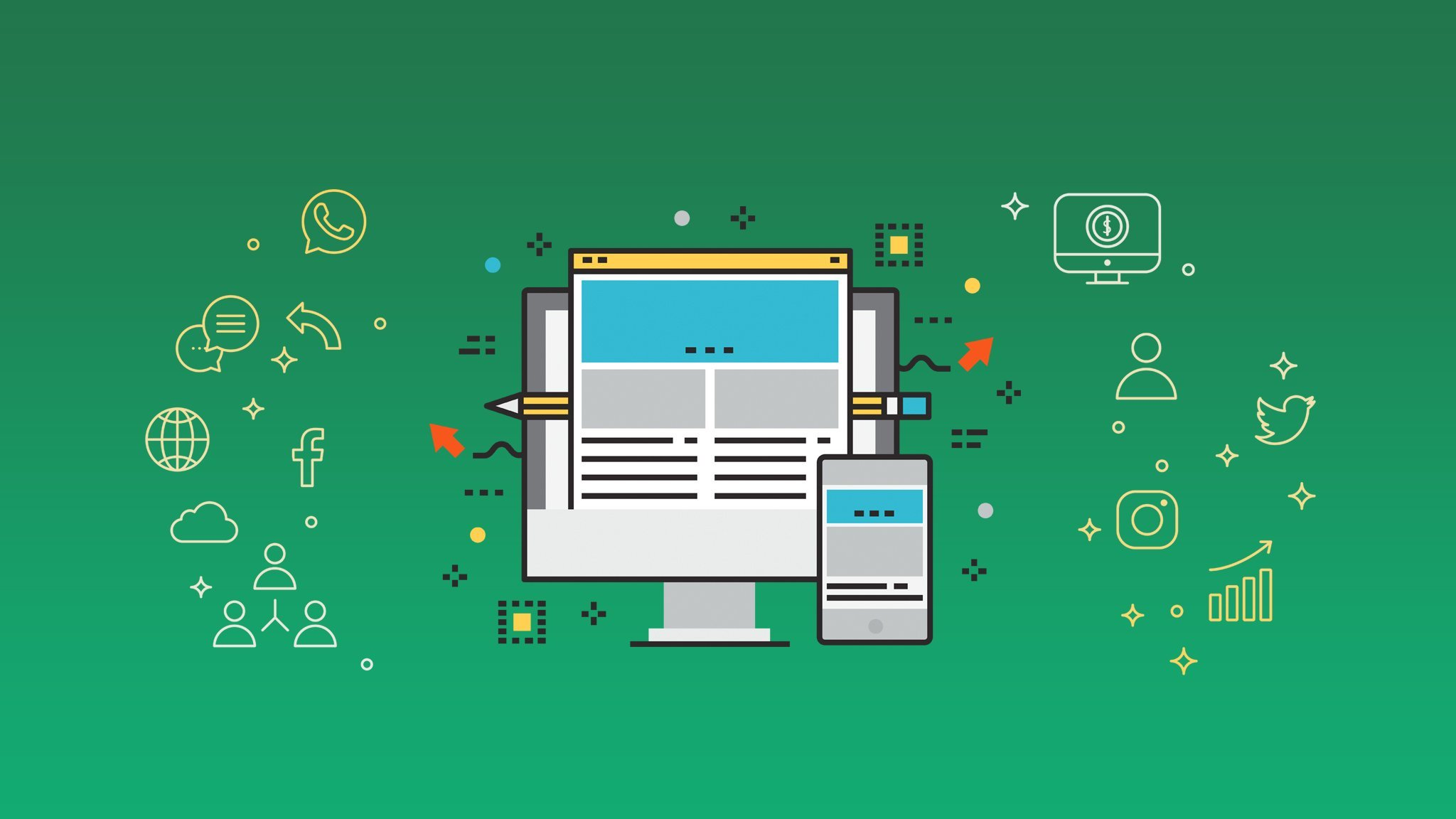 skillshare course, Web Design course, Web Development course ,