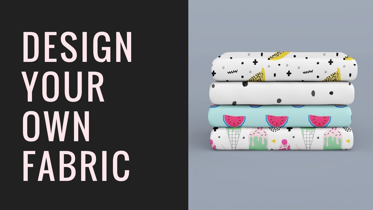 Design your own Fabric with FREE software   Suzy Adair