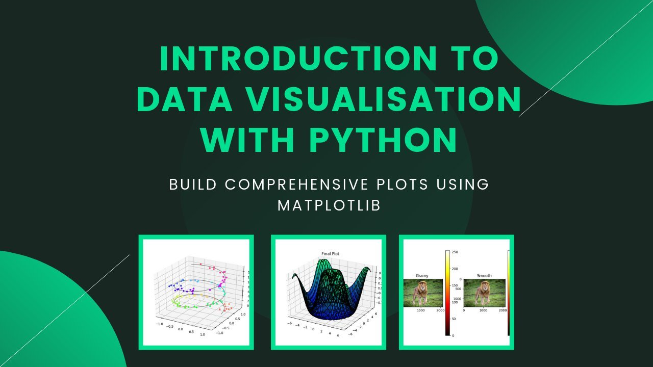 Intro to Data Visualisation with Python : Create Comprehensive Plots