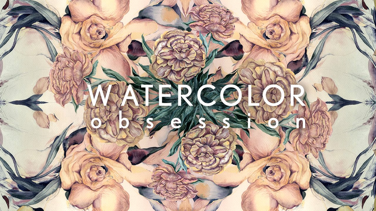 How to Expand Watercolor Painting: Flower Patterns, Abstract Paintings, Japanese Inspiration.