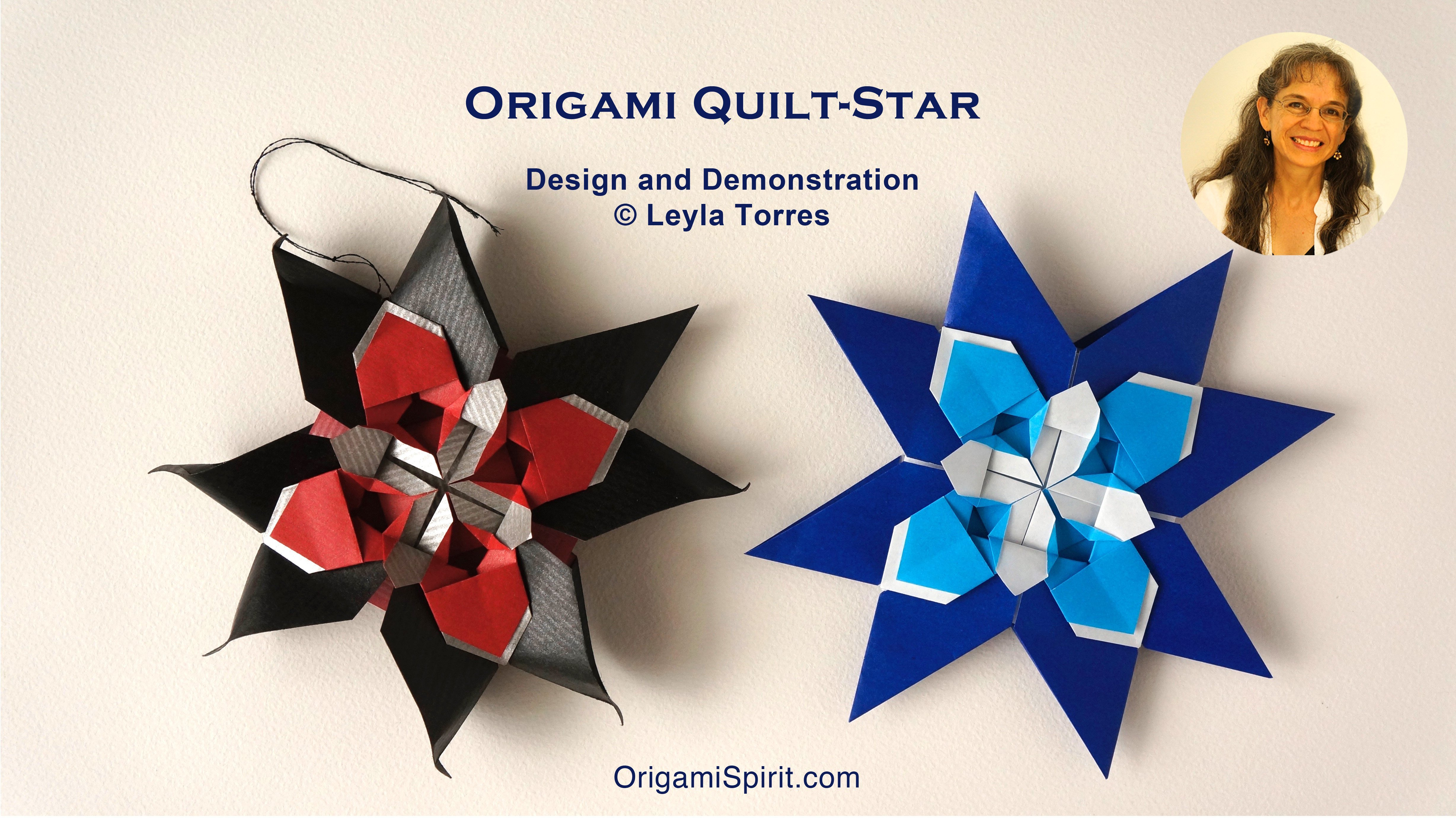 Make an Origami Quilt Star - Paper Craft for Children 7 to 99