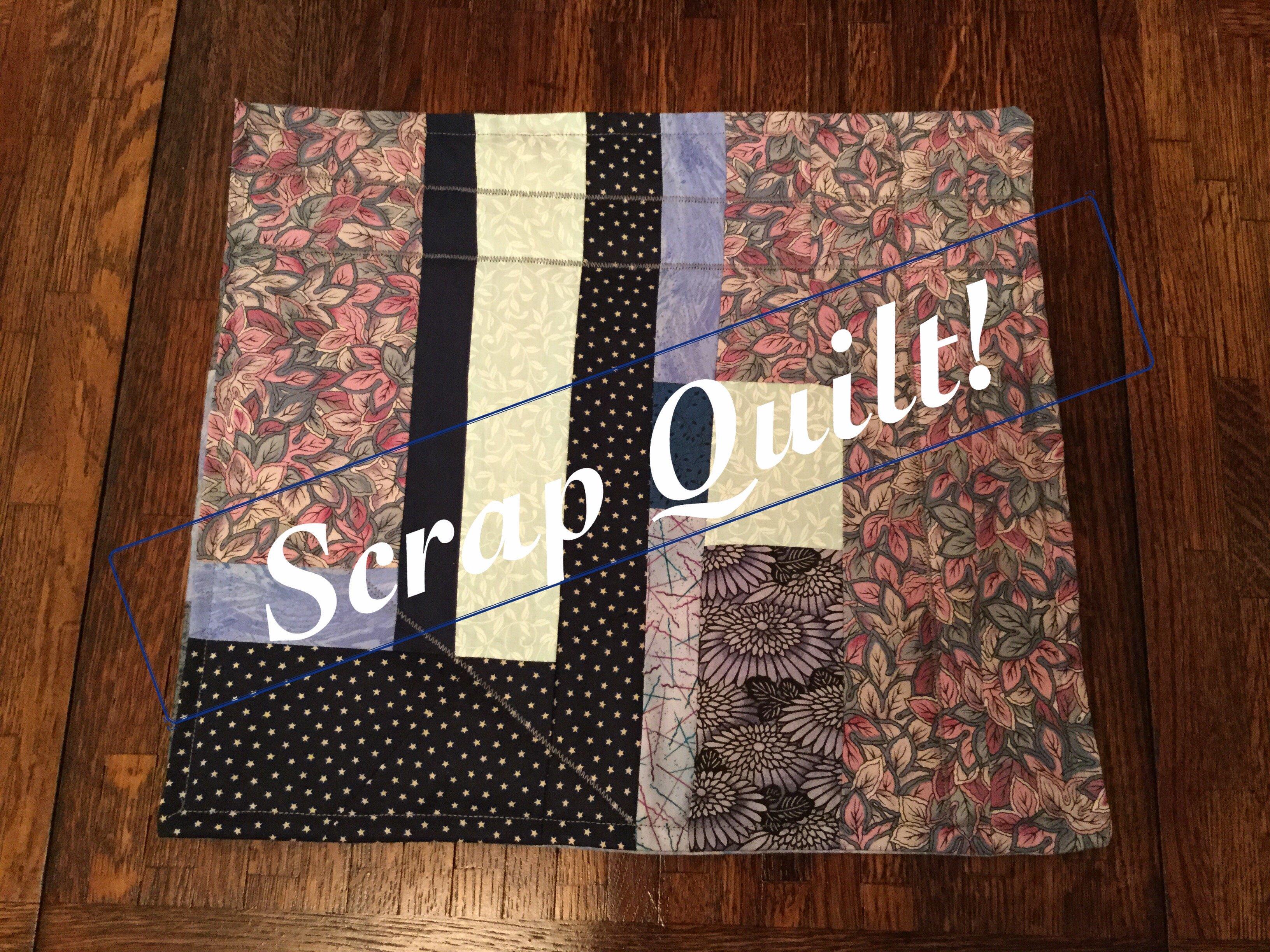 make a scrap quilt racheal maus skillshare. Black Bedroom Furniture Sets. Home Design Ideas