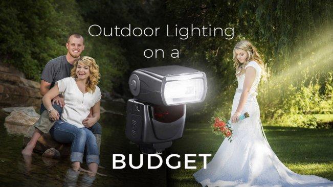 Photography outdoor lighting on a budget joshua butts skillshare aloadofball Images