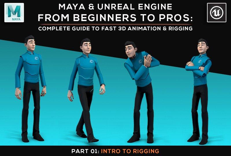 Maya and Unreal Engine