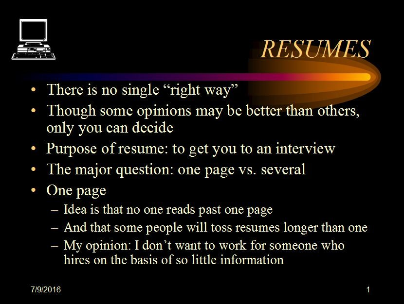 what to include and not include in your resume and why