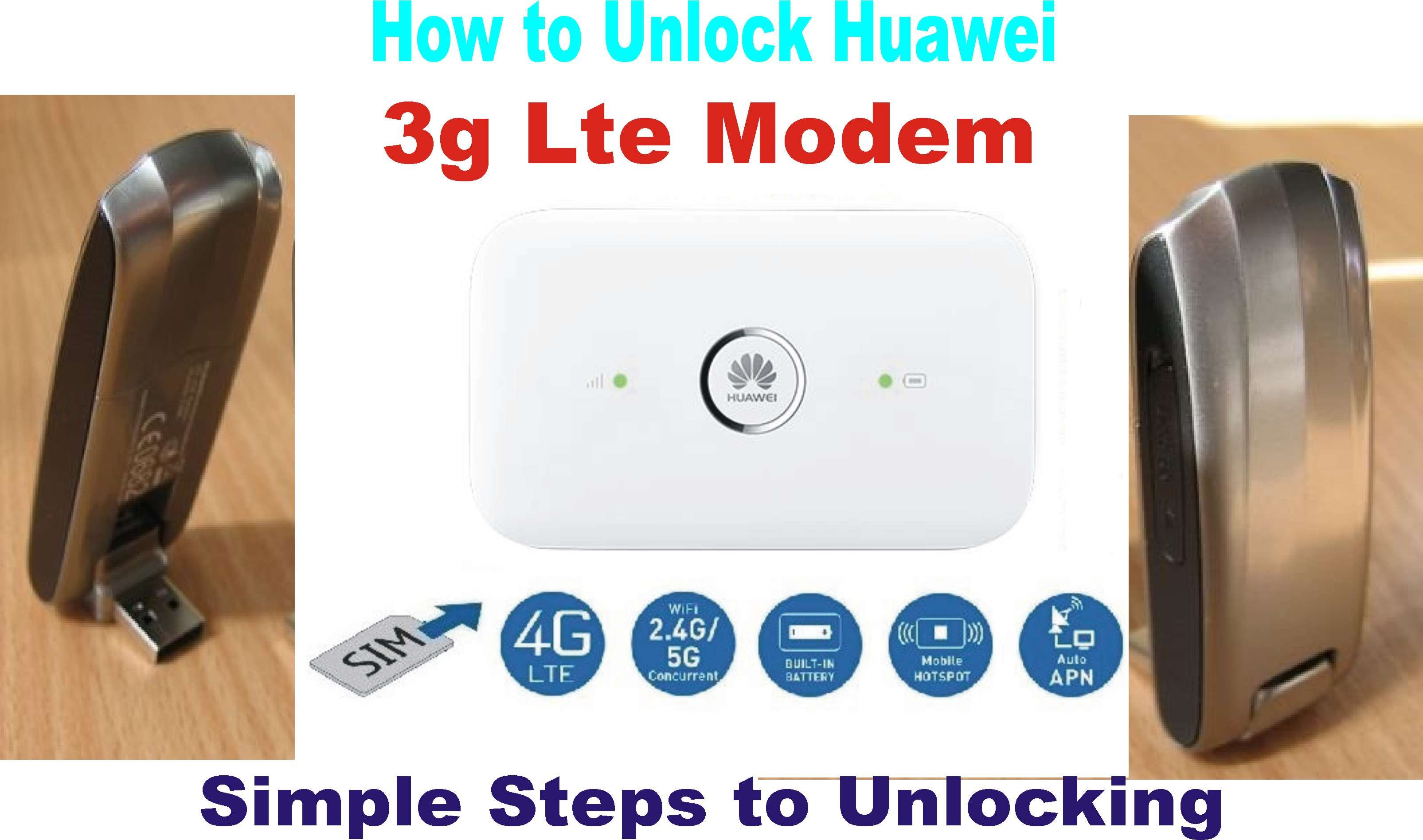 Diy How To Unlock Your Huawei 4g Lte Modem And Use It For Any 3g Or 2g Sim Emma Tayo Skillshare