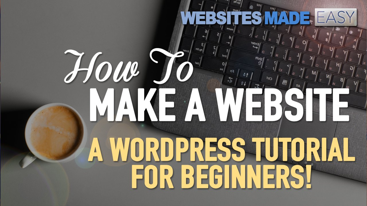 How to properly make a website with wordpress beginners tutorial how to properly make a website with wordpress beginners tutorial james stafford skillshare baditri Images
