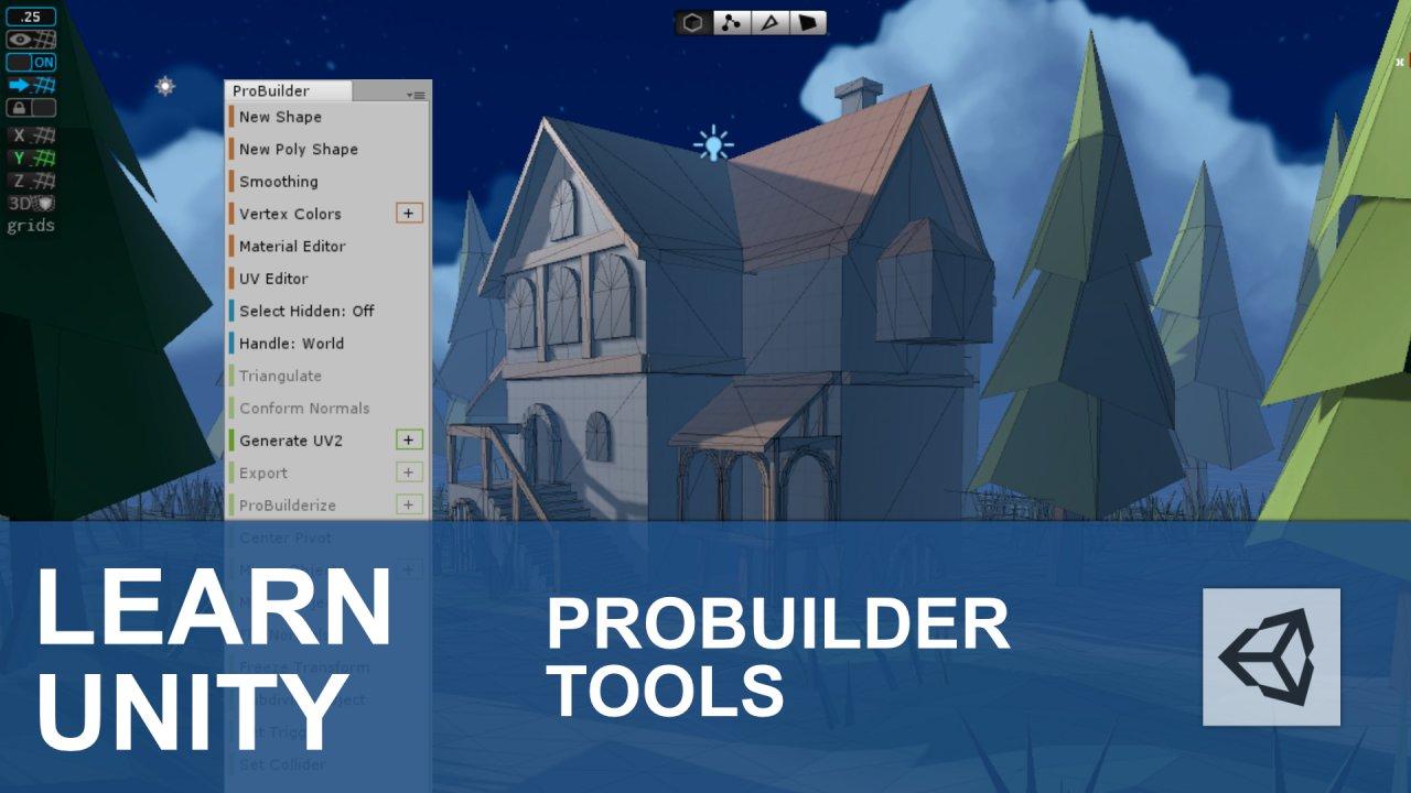 The Unity 3D Probuilder Essentials Course | Charles Elum