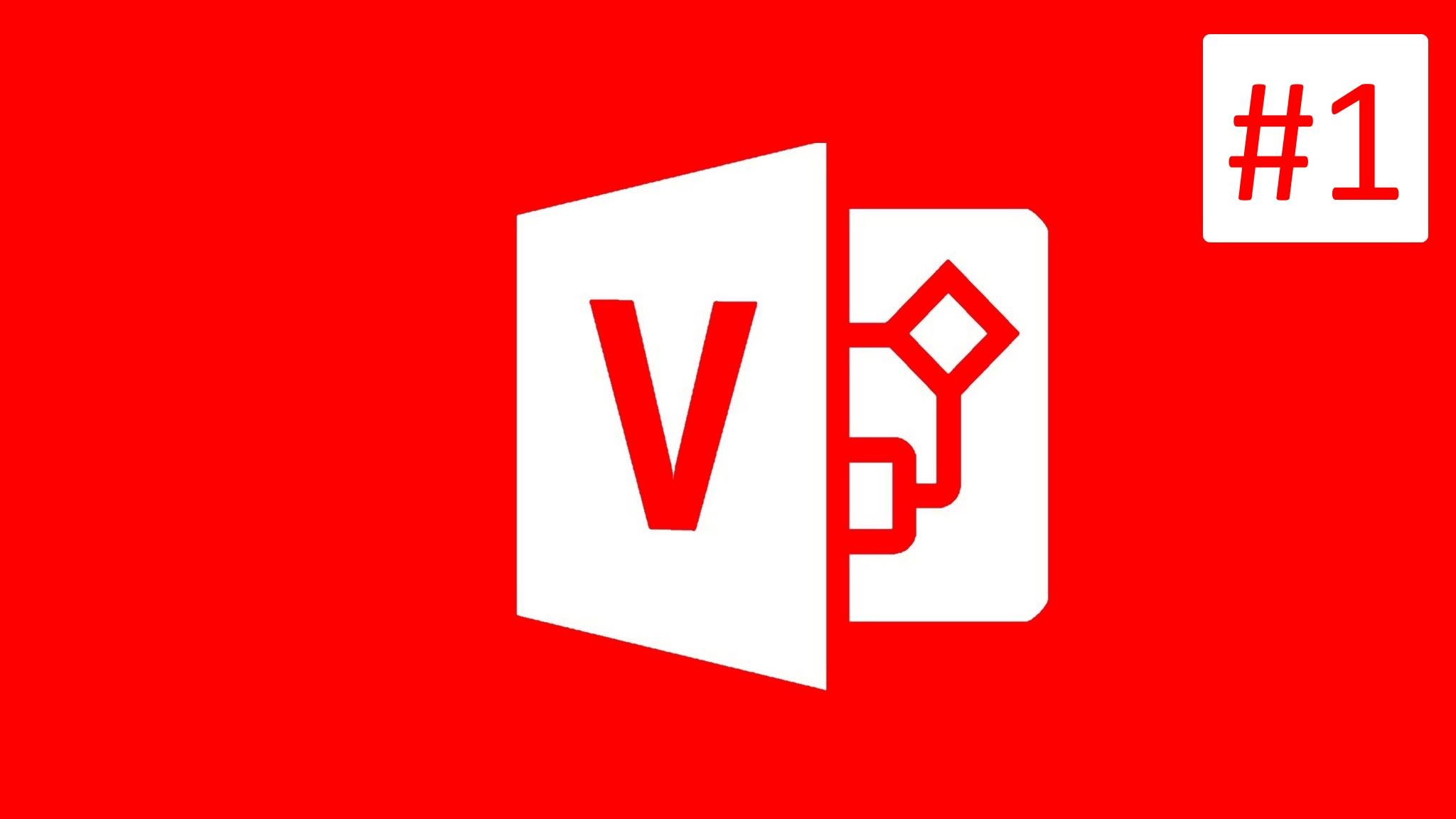 Microsoft Visio 2016 Tutorial - CLASS #1 - Introduction to Microsoft Visio