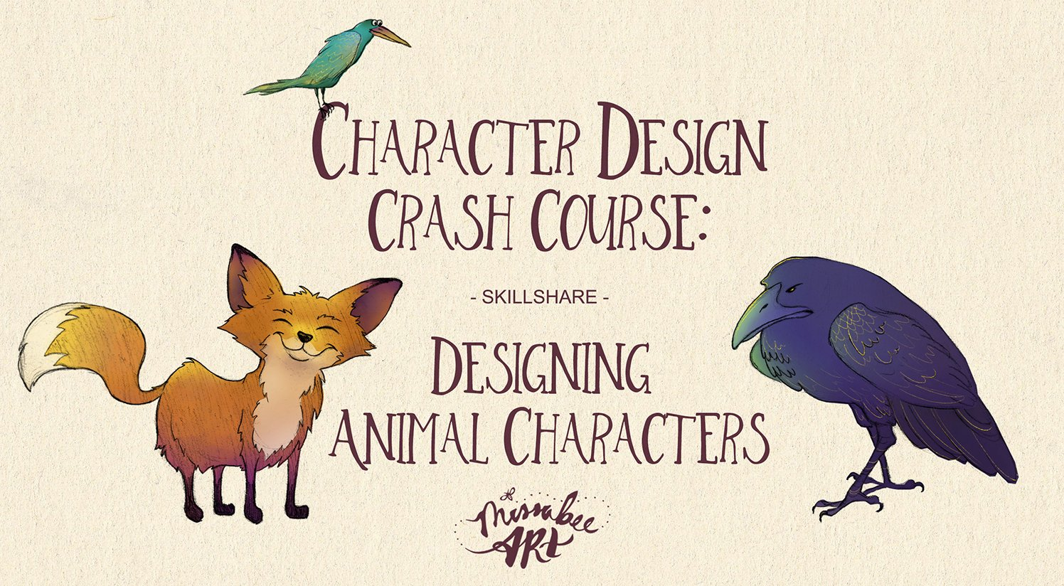 Character Design Summer Classes : Character design crash course designing animal characters