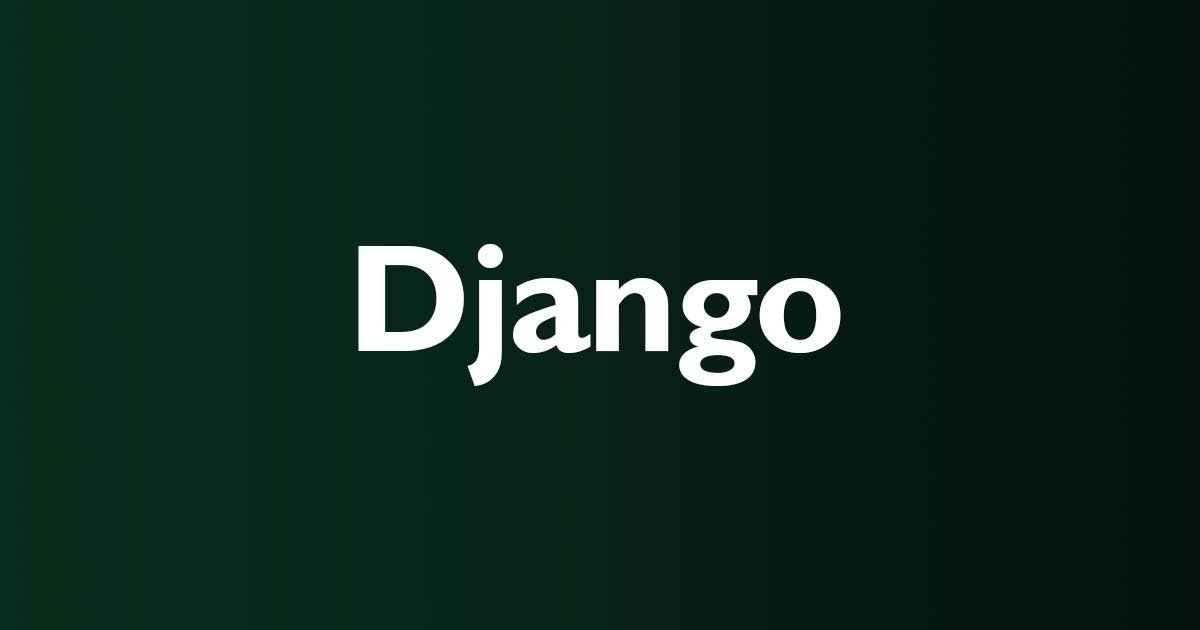 Try Django : Learn and Master the Python Programming Web Framework