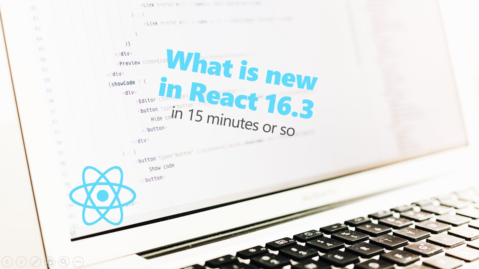 What is new in React 16.3 in 15 minutes or so