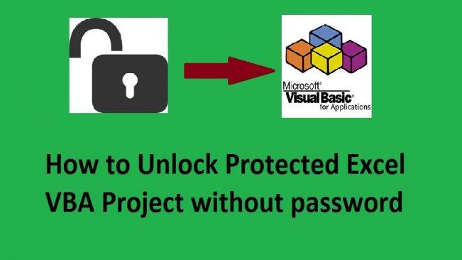 excel vba unlock workbook without password