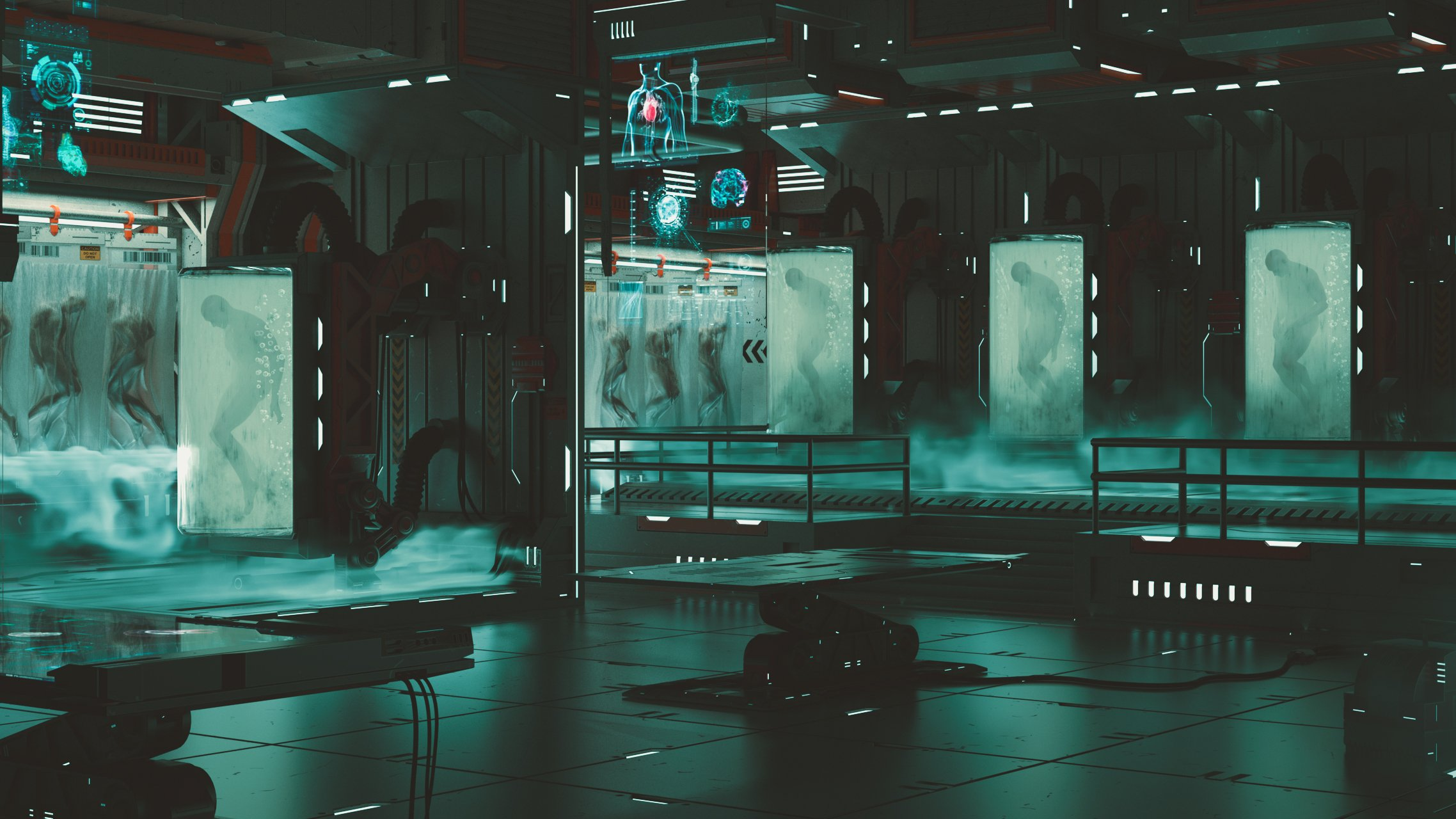 Creating A Si-fi Environment - Bio Lab   Leouvon   Skillshare