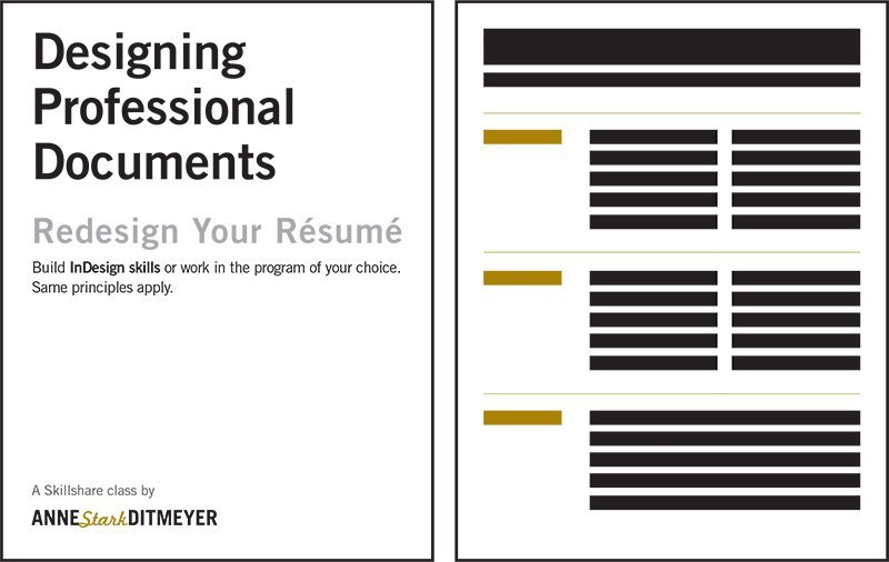 redesign your resume  designing professional documents