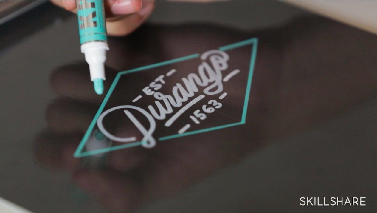 Lettering a Monoline Wordmark: Creating Graffiti-Inspired Uniform Lines | Ricardo Gonzalez