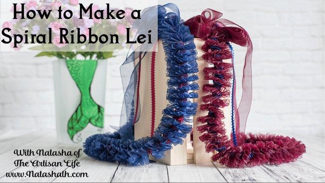 How To Make A Hawaiian Style Spiral Ribbon Lei Natasha N Skillshare